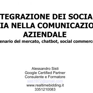 Social Media, Chatbot, Social Commerce